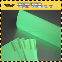 High Quality Reflective Material Self-Glow Film,Reflective Sheeting,Glow In The Dark Vinyl