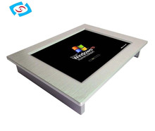 2015 industrial touch screen Panel PC with Intel Atom D2550 1.86 GHz processor (PPC-104P/121P)