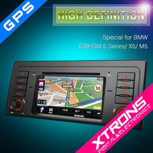 "7"" HD Digital Touch screen Car Audio special for BMW E39 with Can bus"