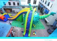 EN14960 tobogan safari inflatable slide,inflatable jungle slide for kids,inflatable dinosaur slide