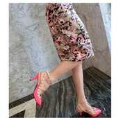 Туфли на высоком каблуке Toe xz-2221