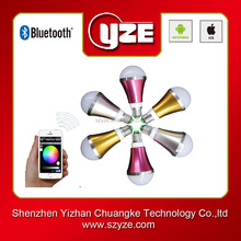2015 top selling smart bluetooth low energy dimmable 5w led light bulb