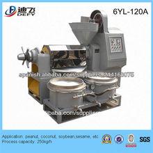 máquina de la prensa de aceite del tornillo automático