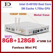 2015 Cheap Win 7/ Linux Ubuntu Mini PC with 8GB RAM 128GB SSD, Intel i3 Dual Core Desktop Computer Window s 8 supported