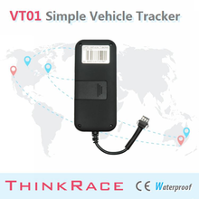 2015 Thinkrace Motorcycle car alarm system VT01 With Internal GSM antenna/tracking/car gps