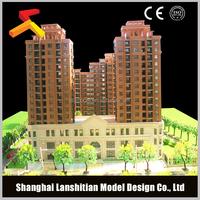interior decoration resin miniature building model