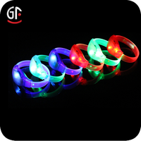 Hot Party Supply Bright Light Sound Activated LED Wristband
