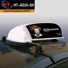 Europe high brightness PP plastic taxi tops for ad