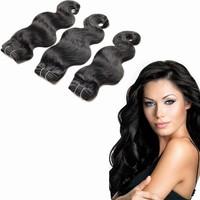 factory price large in stock human hair weaving body wave wholesale 22'' 24'' 26'' 3pcs/ lot rosa hair virgin brazilian body