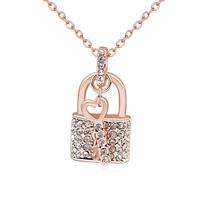 fashion key design jewellery made with Swarovski elements necklaces jewelry 2015