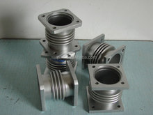 Exhaust gas customized compensators