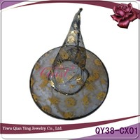 New Halloween costume carnival folding wizard witch hat