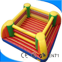 Outdoor inflatable Attractive Bouncy Inflatable Boxing Ring,inflatable wrestling ring