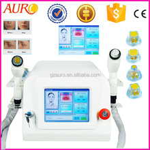 Au-69 skin lift and wrinkle remove cooling RF device