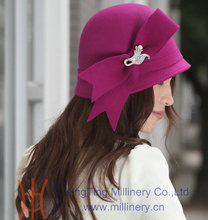 New fashion women church wool hat
