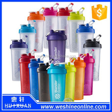 Hot Sale transparent plastic sport BPA free joyshaker bottle blender protein shake water bottle