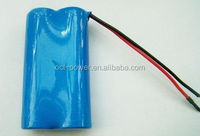 ICR 18650 2s1p 7.4v 2200mah battery li ion akku packs