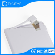 LED Display Power Bank With Super Slim Good Looking Picture Power Bank