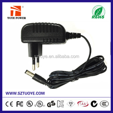 Factory direct from China ac dc power adapter 15v 200ma input 100~240v ac 50/60hz