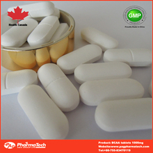 Sports Supplements BCAA tablets for Body building