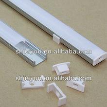 customized 6063 aluminum led snap frame, extruded aluminum led snap frame from shanghai jiayun aluminium