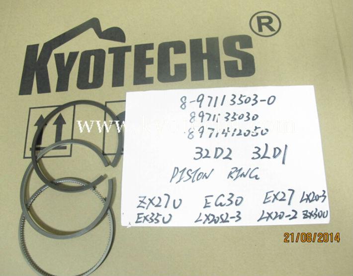 PISTON RING FOR 8-97113503-0 8971135030  897113-5030 8971412050 8-97141205-0 897141-2050 4LD2 3LD1 PISTON RING ZX27U EG30 EX27 LX20-3 EX35U LX20SL-3 LX20-2 ZX30U.jpg