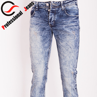 mens funky jeans embroidered with stones