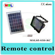 Green Power 5W Solar Panel Light Kits with Remote Controller MSL05-03D-RC