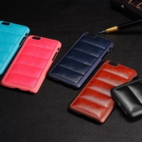 Wholesale Crazy Horse Pattern Back PU Leather Cell Phone Accessory for iphone 6 4.7inch
