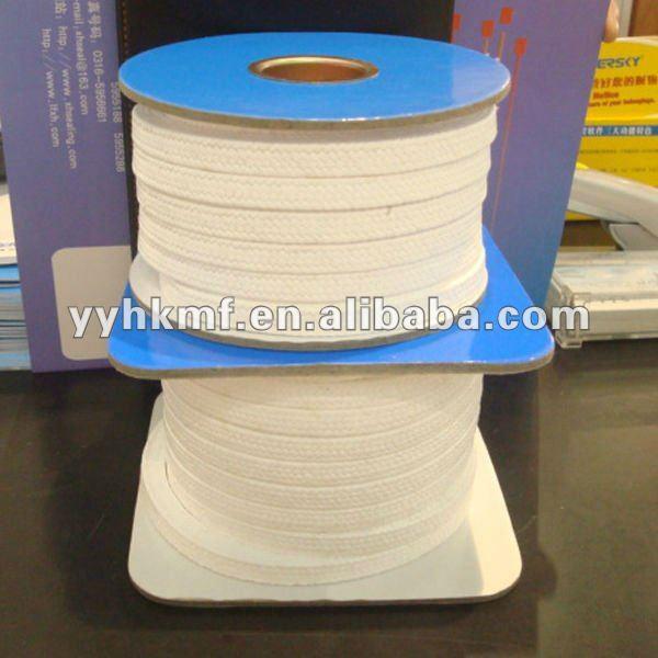 High Temperature Pressure Pure PTFE Teflon Gland Packing Food Grade