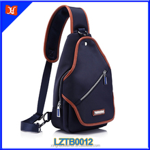 2015 New coming summer classic waterproof sport cycling nylon chest bag young men teenage single shoulder bag