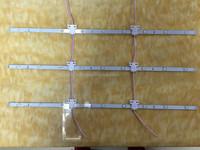 max brite led lattice, dc24v, cri>80, Cuttable, Advertising backlight