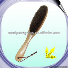 Wooden Horse Hair Brush in Long Handle