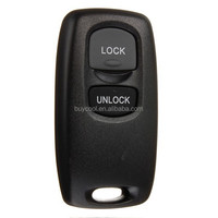 2 Button Blank Remote Key Case Fob For Mazda 2 3 6 323 626 Replacement