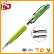 Free Samples! Newest capacitive USB touch crystal filled pens