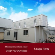 modern roof fabricated steel shipping container houses