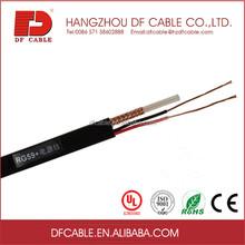 Cctv cabo rg59 cabo de fio carretéis de madeira