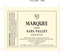Marquee Napa Valley Red Wine