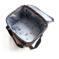 Large size polyester cake cooler bag with high quality waterproof linning