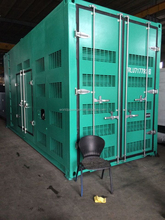 containerised diesel generator supply electric power for hotel