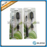 Bilstar CE quality blister CE4 enjoy e cigarette