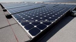 50w mono solar panel with MC4 connector / stock photovoltaic panels