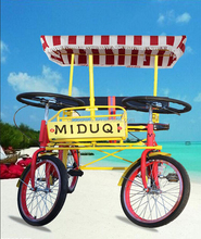 Seaside leisure two seat chopper bike /chopper bicycle/bicycle for two person