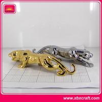 custom small Metal Animal Sculpture Desk Decoration