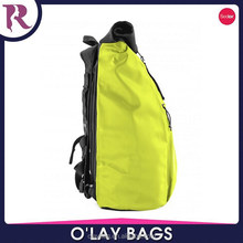 China supplier roll top water resistant backpack bag with cover