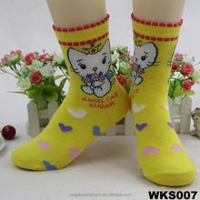 fashion knitting socks knitted top boot sock