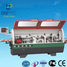 Gluing/end trimming/fine trimming/scraping/buffing full automatic edge banding machine for PVC pasting