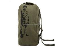 New Arrival Custom High-Capacity DNBG12LTB058 Canvas Barrel Bag Duffel Travel Bags