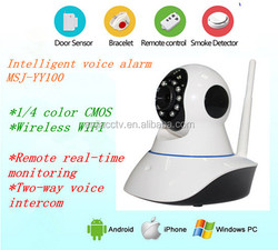 Buy direct from china factory HD 720P night vision baby camera P2P wireless PTZ Mini wifi doorbell camera