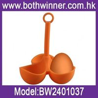 plastic egg mould , H0T058 , silicone application tool , home utensils plastic boiled egg